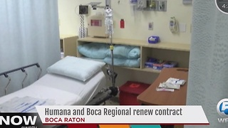 Humana and Boca Regional renew contract - Video