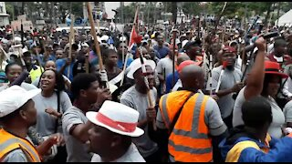 SOUTH AFRICA - Durban - Human rights day march (Video) (oF5)