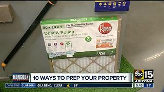 Best ways to prepare for your property for summer storms - Video