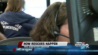 How rescues happen: This is what is was like in the 911 dispatch center when a truck got stuck in rushing water on the NW side today - Video