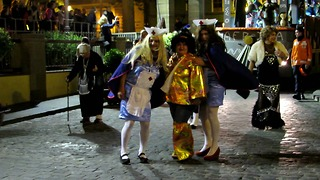 Funny Street Carnival Canary Islands  - Video