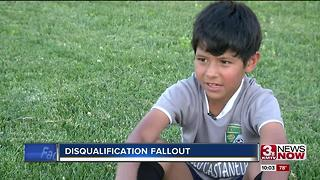 Soccer tournament director stands by decision to disqualify8-year-old girl