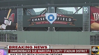 Diamondbacks file lawsuit against Maricopa County over stadium dispute - Video