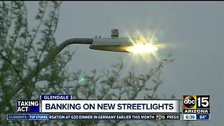 "Glendale making ""full conversion"" to LED streetlights - Video"