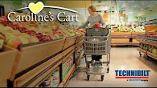 Special needs shopping cart makes shopping easier - Video