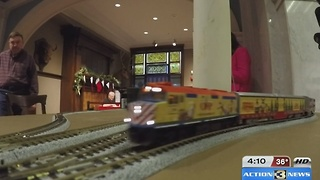 All Aboard interactive train display - Video