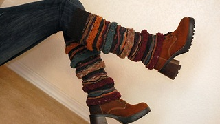 How to Make Leg Warmers From a Sweater- Easy DIY! No Sewing! - Video