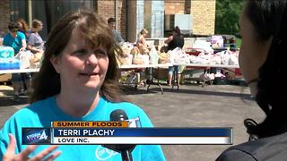 Burlington non-profit seeks assistance to help flood victims - Video