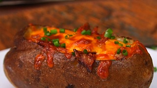 Breakfast Baked Potatoes - Video