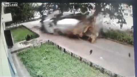 [LEAKING] - Accident with Concrete-hit