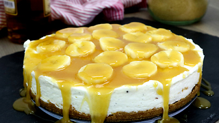 No-bake banana rum cheesecake recipe - Video