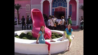 Huge Pink Barbie House - Video