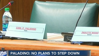 Carl Paladino has no plans to step down - Video