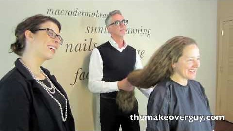 MAKEOVER! Longest Hair I've Ever Cut, by Christopher Hopkins, The Makeover Guy