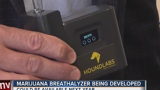 Marijuana breathalyzer being developed - Video