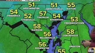 Temperatures continue to fall Friday with a wintry mix on the way - Video