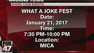 Around Town 1/19/17: What A Joke Fest - Video
