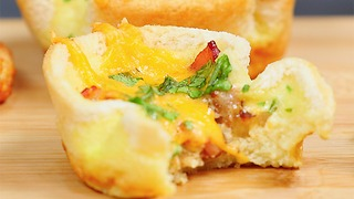 Breakfast Quiche Cups - Video