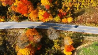Drone Video Shows Beauty Of New Hampshire Fall Foliage - Video