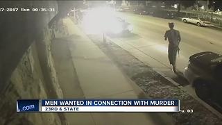 Two charged, on the run after deadly State Street shooting - Video