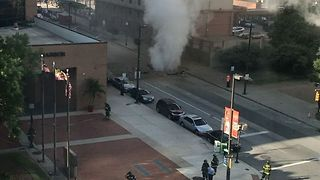 Underground Steam Explosion Injures Several in Baltimore - Video