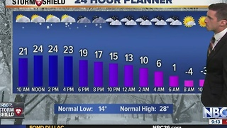Matt Hoffman's Winter Storm Forecast - Video