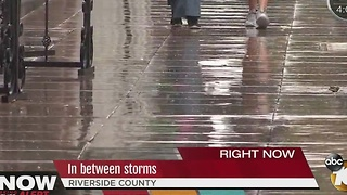 Riverside County prepares for storms - Video