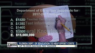 Help for Florida teachers failing state test, but will state's solution save them? - Video