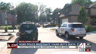 KCPD investigating death of child - Video
