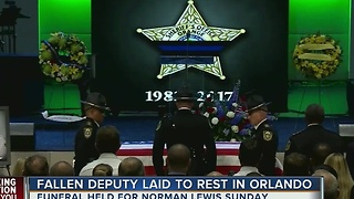 Fallen deputy laid to rest in Orlando - Video