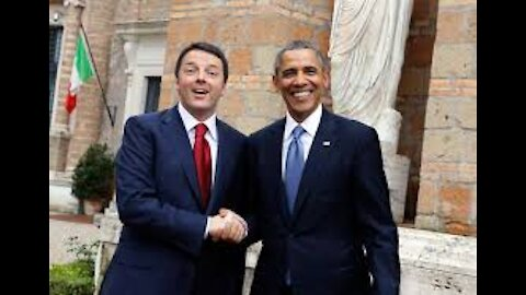 EXPLOSIVE: OBAMA AND RENZI, FORMER PM OF ITALY ORCHESTRATED THE THEFT OF U.S. ELECTION