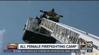 Teen girls empowered through Goodyear Fire camp - Video