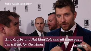 Brett Eldredge talks about his first Christmas album | Rare Country - Video