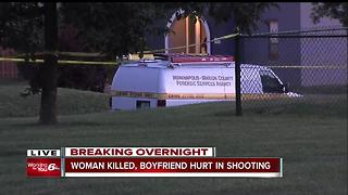 Woman killed, boyfriend hurt in shooting Sunday