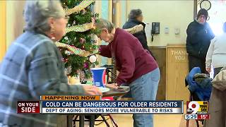 Cold can be dangerous for older residents - Video