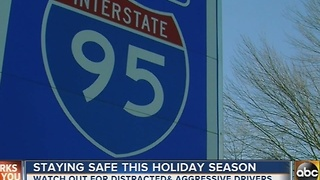 Staying safe while driving on the roads this holiday season - Video