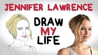 Jennifer Lawrence | Draw My Life - Video