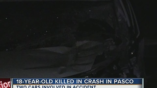 18-year-old killed in Pasco crash - Video