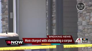 Mom charged with abandonment of corpse after 8-year-old son found dead - Video
