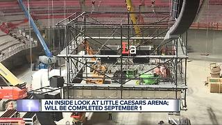 A look inside Little Caesars Arena - Video