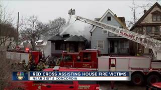 North side house uninhabitable after 3-alarm fire - Video