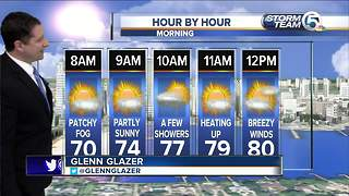 Updated morning forecast - Video