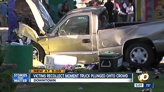 Victims recollect moment truck plunged onto crowd - Video