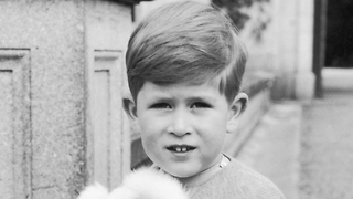 Young Prince Charles Playing Cricket - Video
