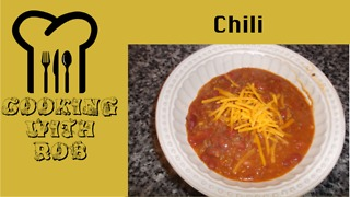 Homemade Chili - Video
