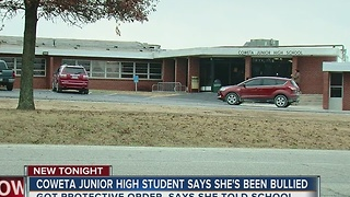 Coweta Junior High Student says she's been Bullied - Video