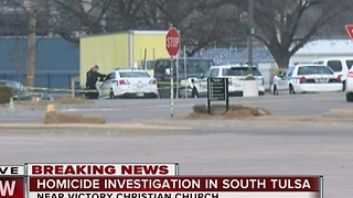 Body found in south Tulsa, police investigate - Video