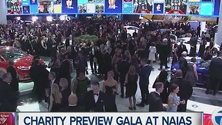 Preparing for Charity Preview at Cobo Center - Video