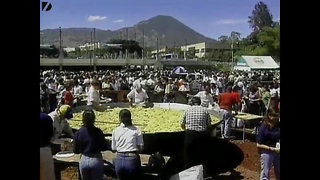 Record Breaking Paella - Video