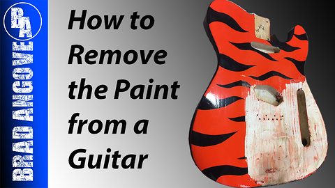 How to remove paint from a guitar